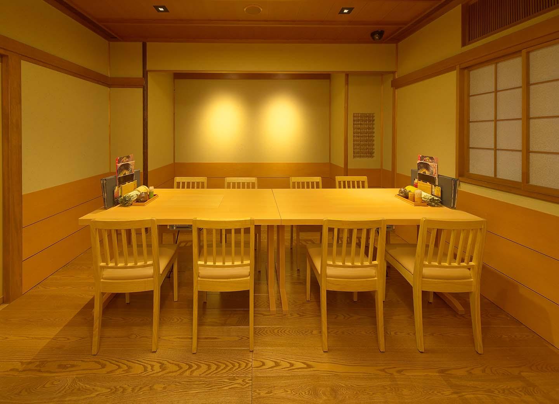 テーブル席 個室 ことぶき、くわ  (2テーブル連結仕様)