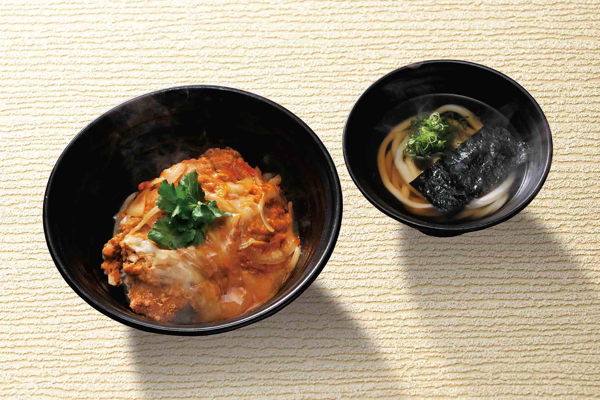 かつ丼(うどん一汁付)