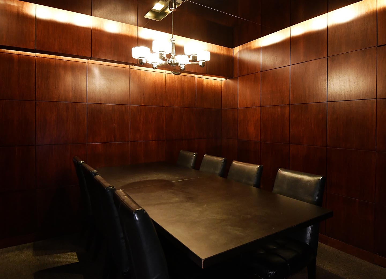 宙〈そら〉 テーブル席 個室