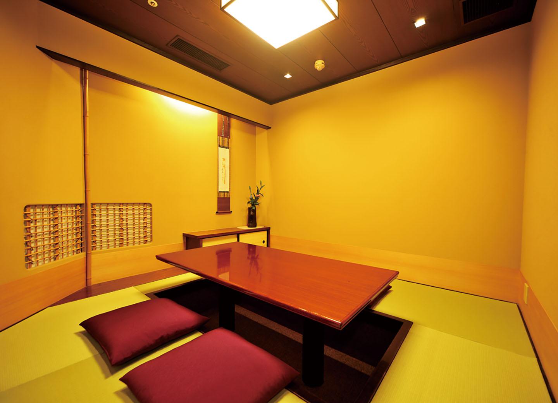 雅〈みやび〉 堀りごたつ 個室 お二人様から四名様までご利用いただけます