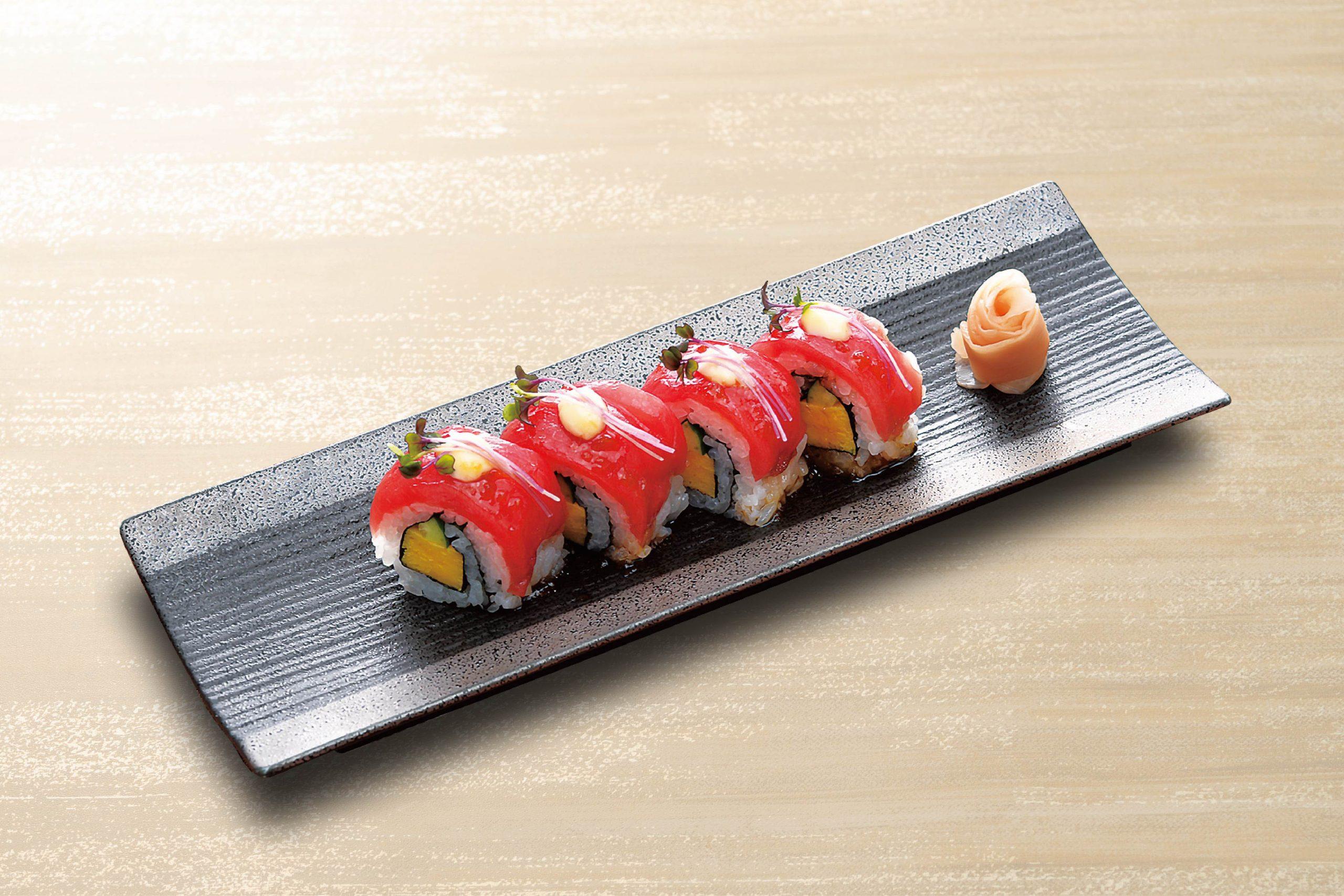 鮪ロール寿司