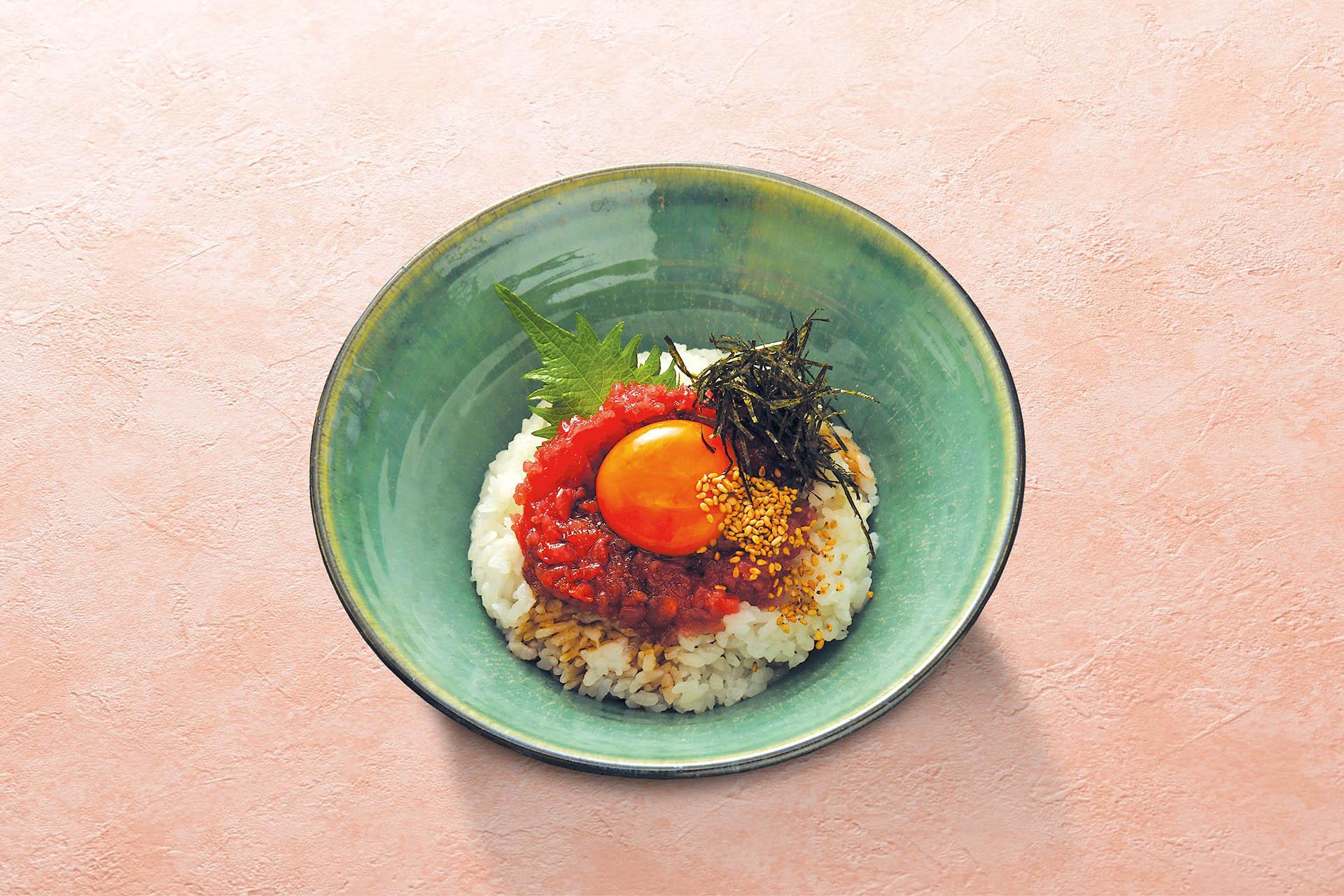 鉄火胡麻醤油小丼