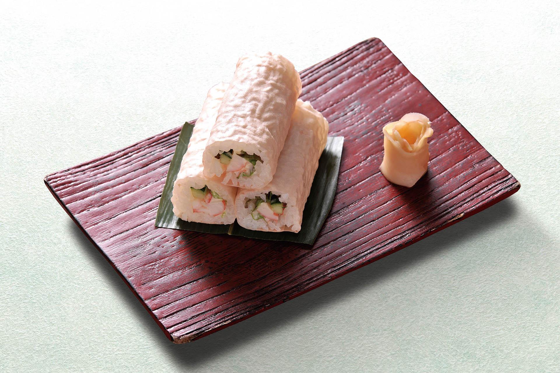 海老サラダ巻