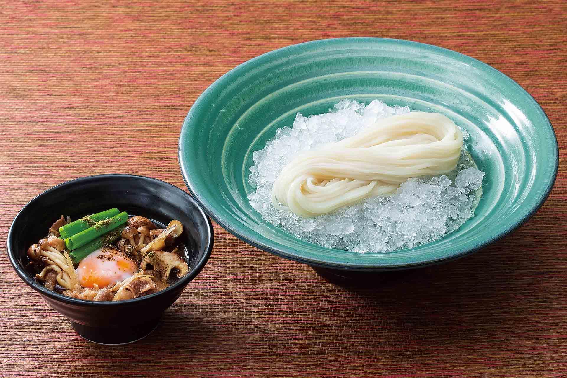 しびれ花椒つけ麺のおうどん