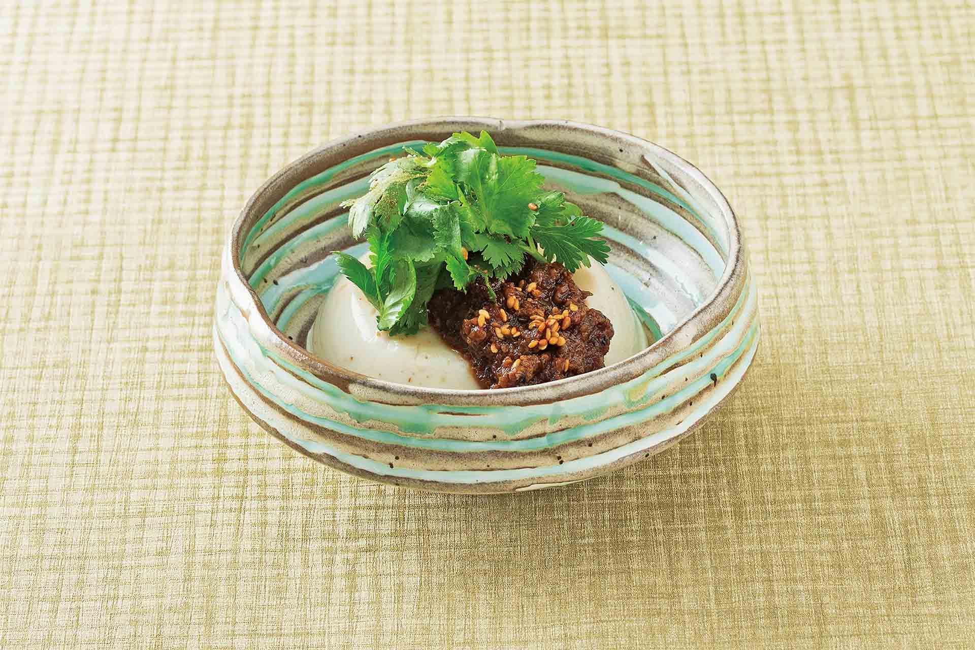 肉味噌 とろみ豆腐