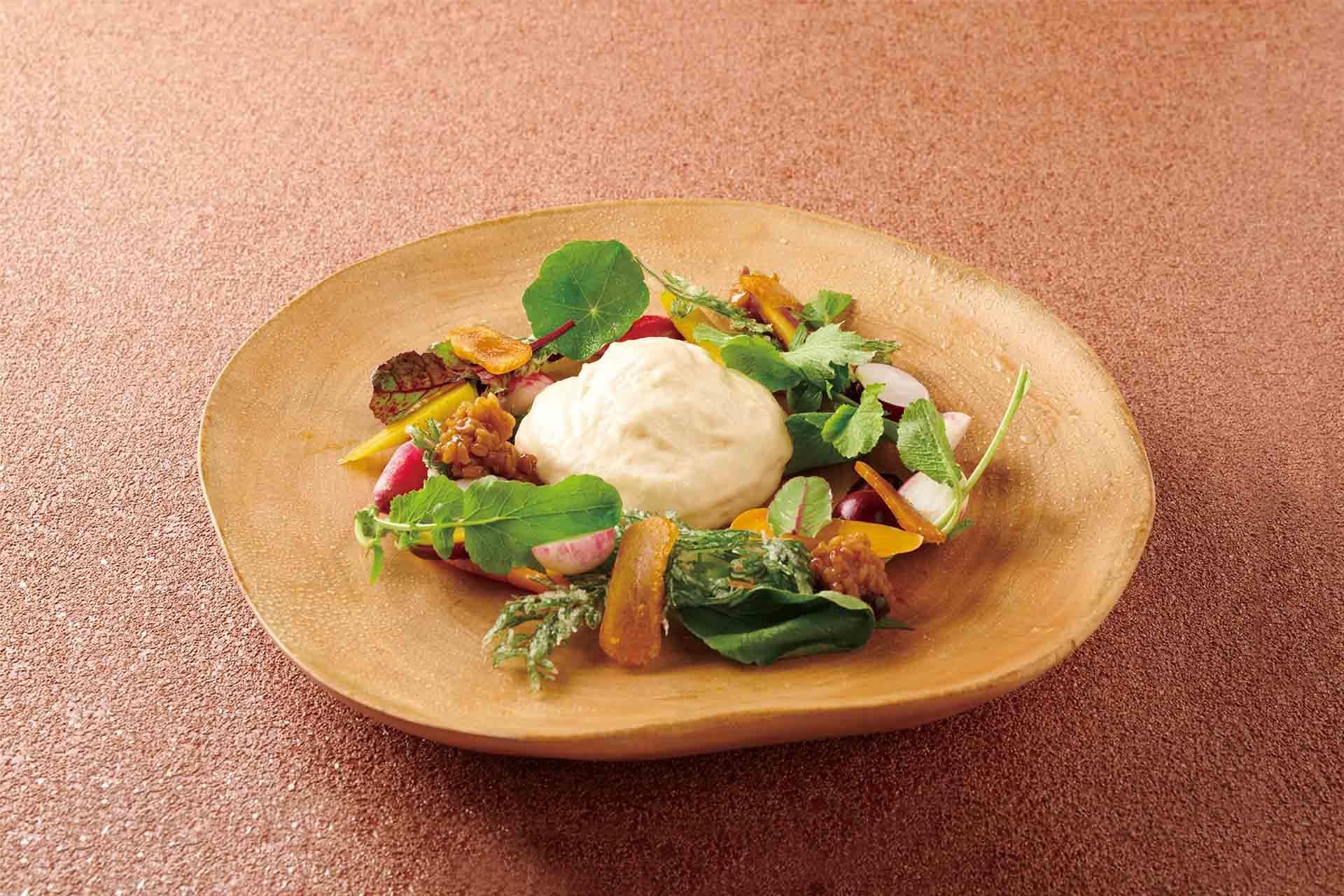 軽井沢有機野菜のくるみ味噌ディップ